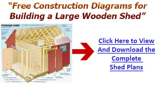 Shed Construction Plans 10x16 Best Methods For Shed Designing Home
